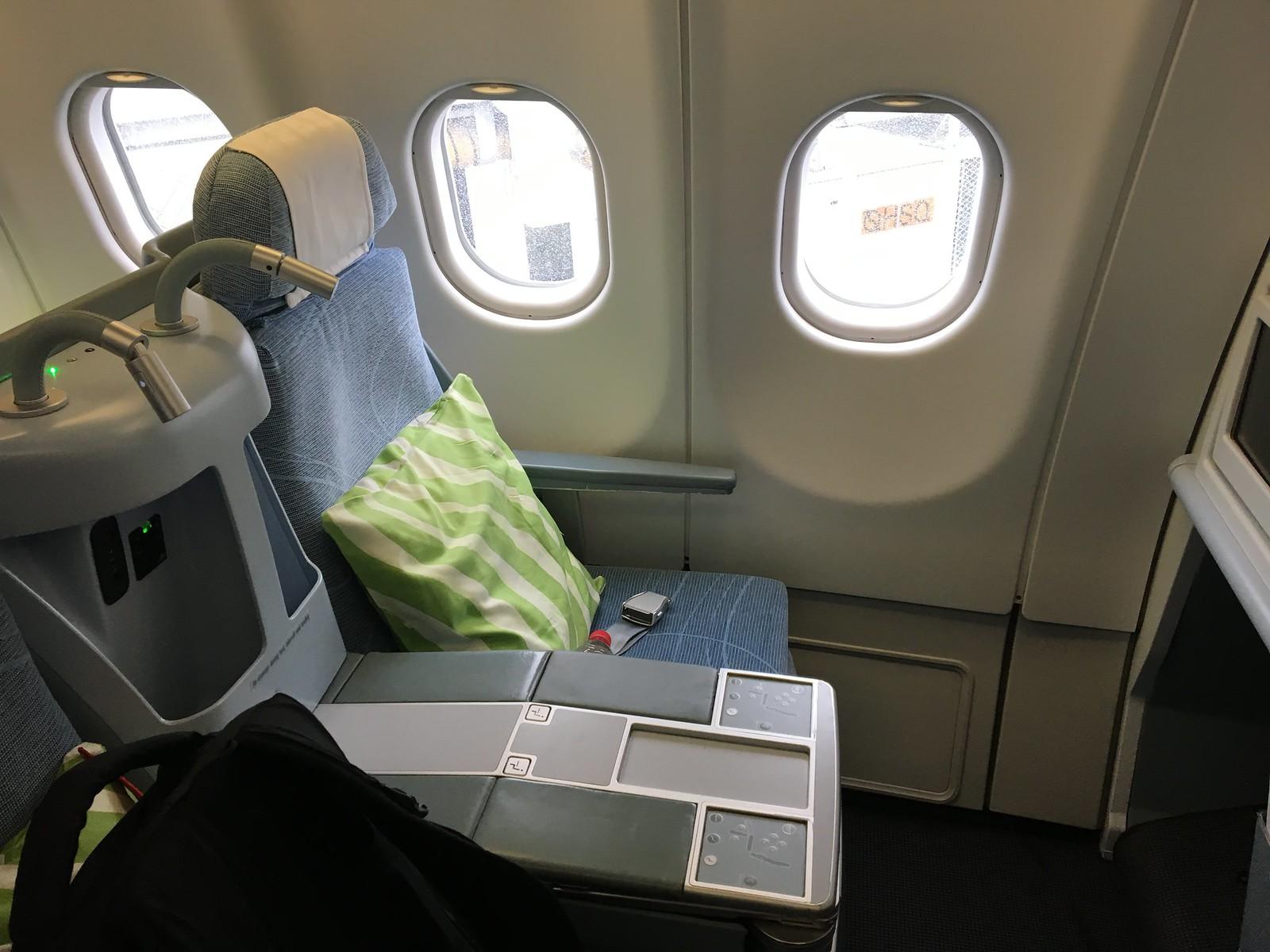 ARVOSTELUSSA FINNAIRIN A330 BUSINESS CLASS