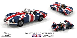 Jaguar E-Type Convertible (Shaguar) - Austin Powers