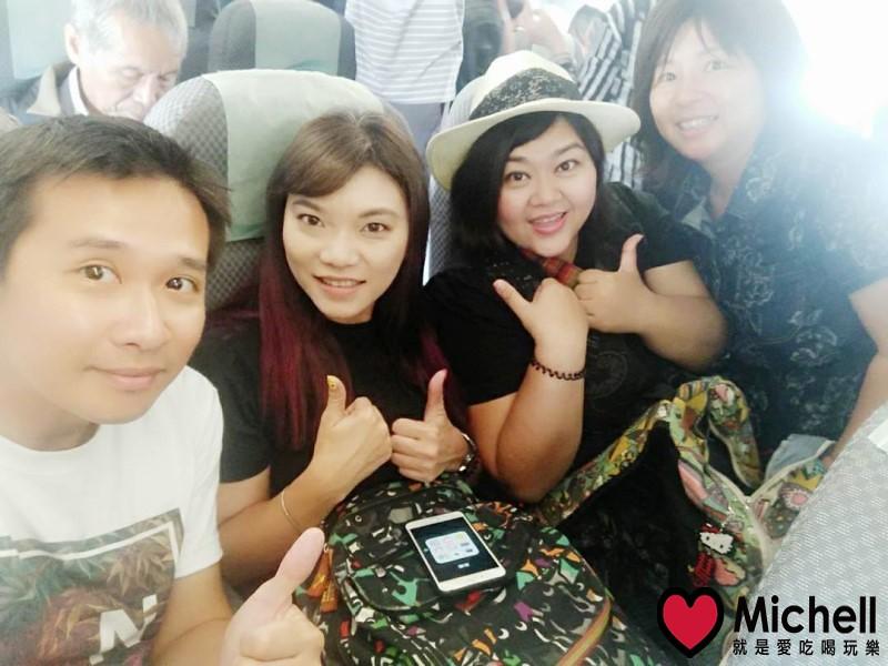 搭乘立榮航空,不到1小時即可抵達金門尚義機場