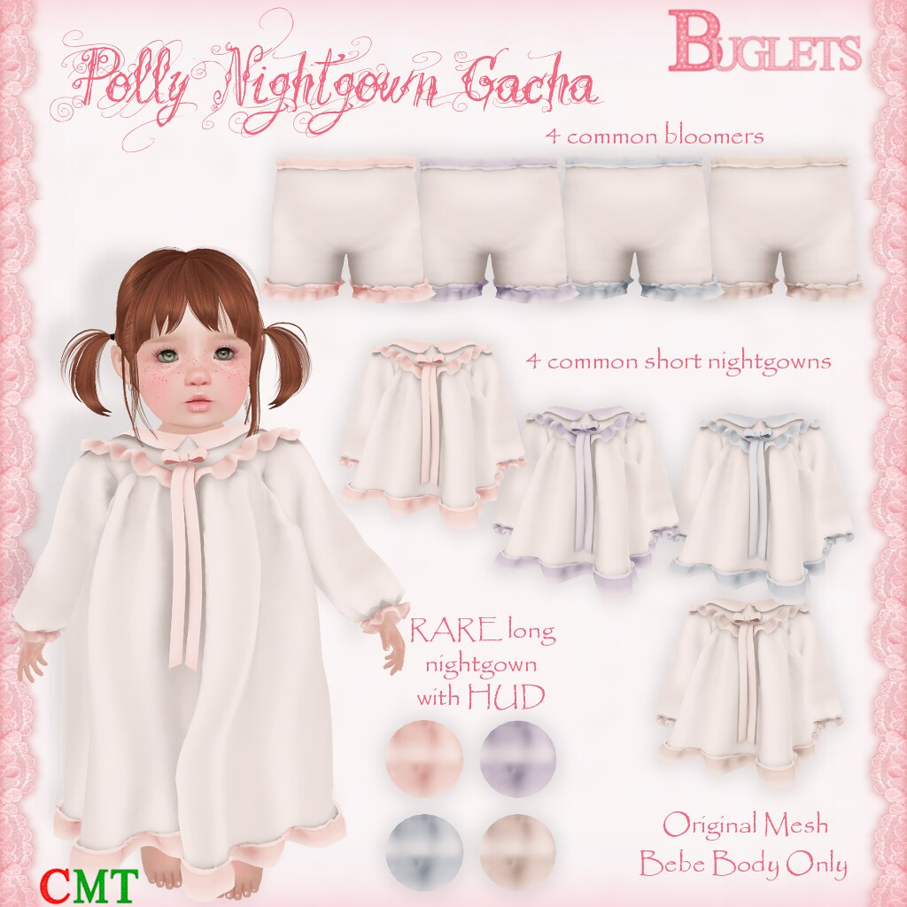 Polly Nightgown Gacha AD