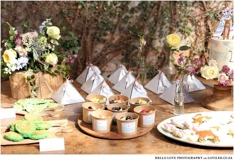 Fox Birthday party 'Wild One' food