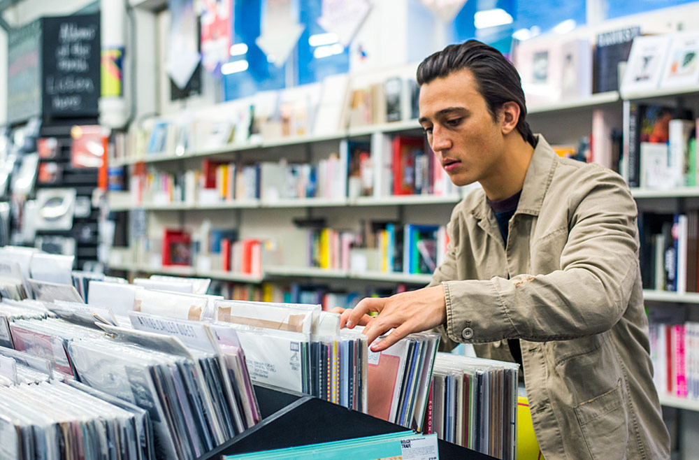 Record Shopping with Zak Abel