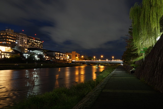 鴨川, Sony ILCE-6000, Sigma 19mm F2.8 [EX] DN