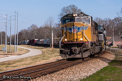 UP 4351 | EMD SD70M | NS Memphis District