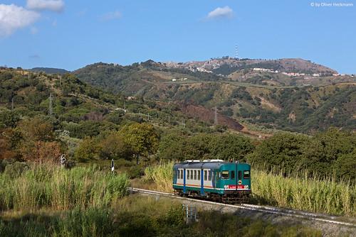 Trenitalia ALn668 1055 Marcellinara
