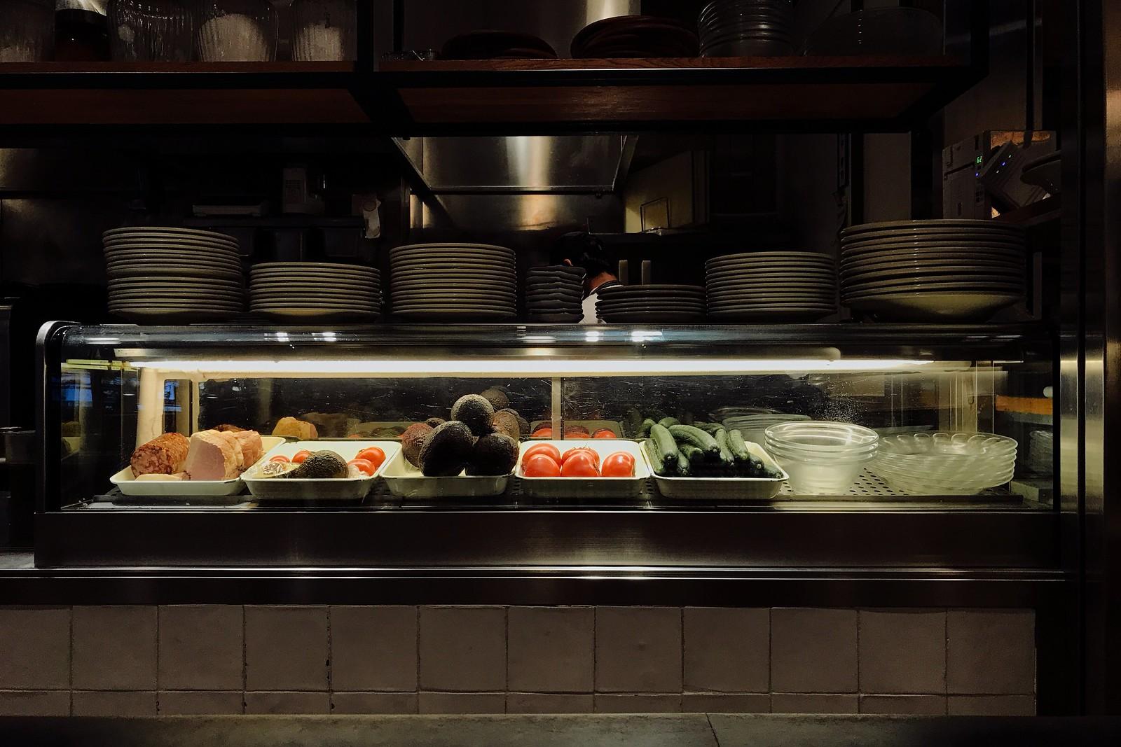 Restaurant kitchen #ShotoniPhone #ShotWithHalide  #RNIFilms #KodakEliteChrome #iPhone7