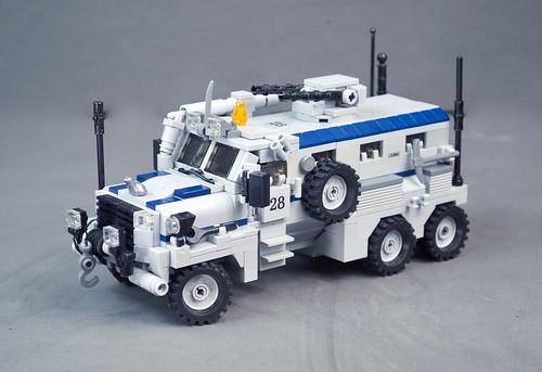 Mack Defense Industries (MDI) Manticore 6x6 MRAP