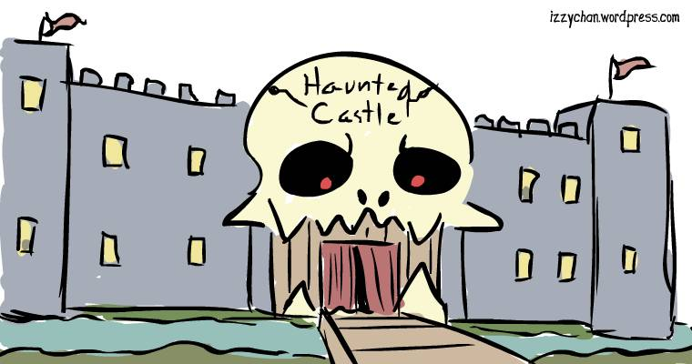 drawlloween haunted castle carnival