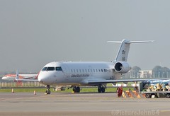 Global Reach Aviation Bombardier CRJ-100LR (OY-RJC) at Schiphol East