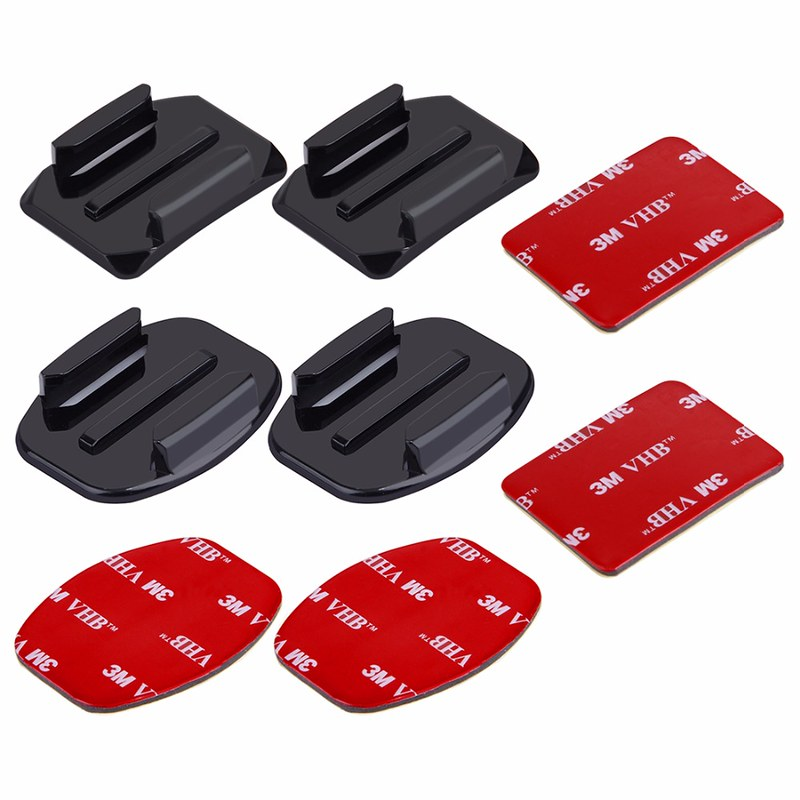 Bộ 4 miếng dán nón bảo hiểm GoPro action cam