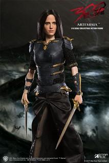 妖豔又危險的女將軍!!Star Ace Toys 三百壯士:帝國崛起【阿爾特米希亞】300: Rise of an Empire General Artemisia 1/6 比例人偶作品