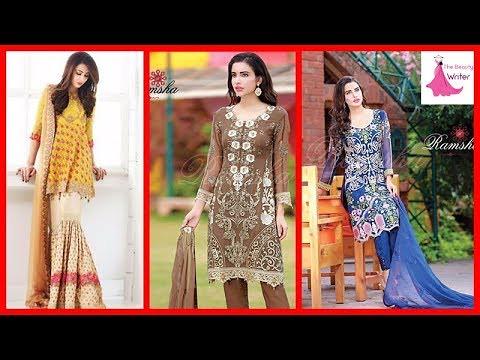 9c3584a63 New Stylish Pakistani Casual Dresses For Girls 2017 - Late…