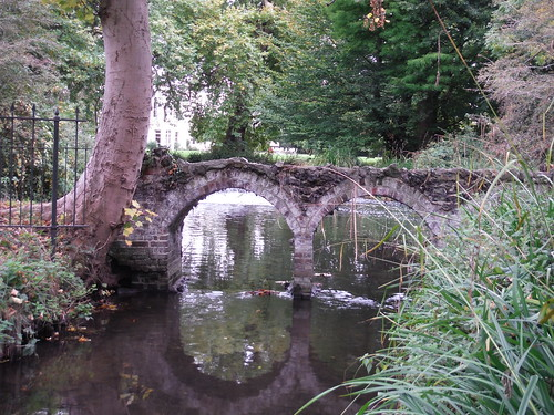 Romatically Ruined Arches (Outflow of Moat of Morden Hall)