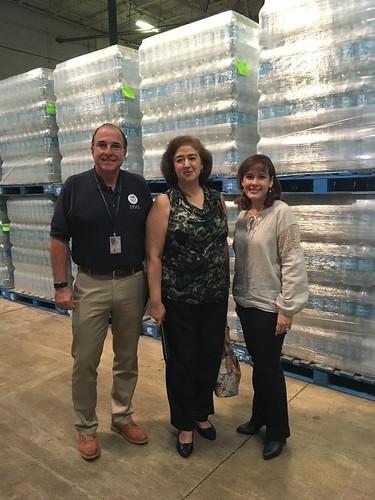 Última entrega de agua de México a Puerto Rico