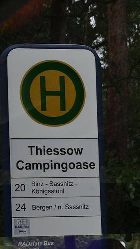 keine festen Wohnplätze im Abendland der Campingoase Thiessow auf Rügen 02374