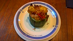 19. Stuffed Local Marrow on Wedgwood by Mark Kneill-Boxley