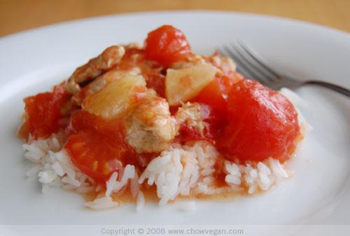 Veggie Tomato Beef | Chow Vegan