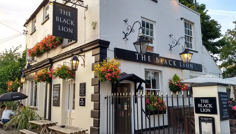The Black Lion pub, Chiswick, London