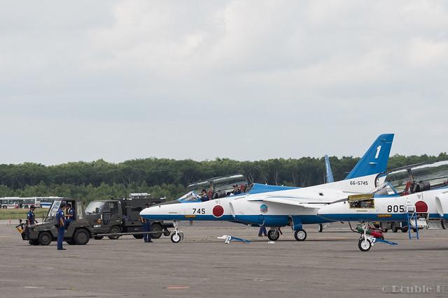 JASDF Chitose AB Airshow 2017 (150) Blue Impluse