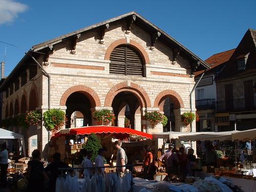 Gramat - Halle du XIXe siècle (Place de la Halle)