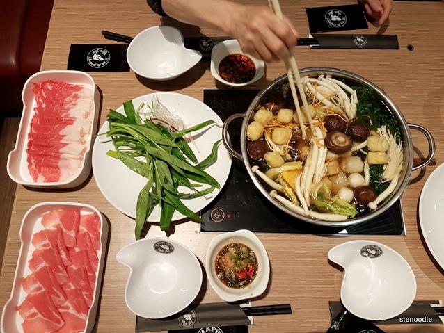 Gyujin Shabu Shabu & Sukiyaki Restaurant foods