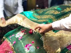 A Gesture of Offering... at the Sufi Shrine of Hazrat Nizamuddin Auliya in Delhi