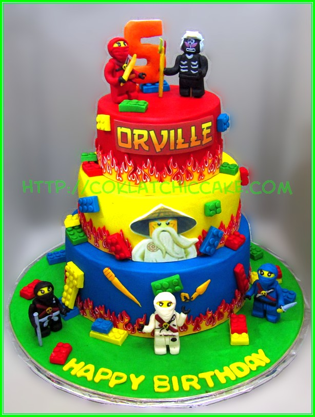Cake ninjago Orville