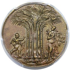 New Yorke in America Token obverse