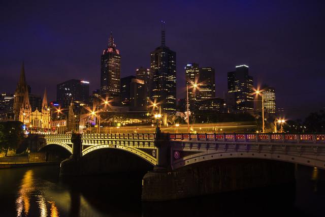Melbourne City Dawning