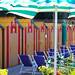 Italy Sorrento beach huts chairs-motoros redőnyök