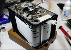 Rolleiflex 3.5C Film Winder Mechanism Plate (03)