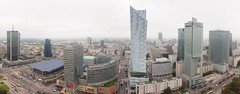 Business District in Warsaw
