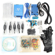 Senior Professional Tattoo Machine Kit Fine-turned Power Supply High-end Equipment Set (1077566) #Banggood