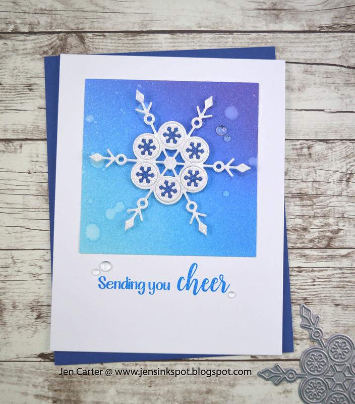 Jen Carter Alpine Snowflake Cheer