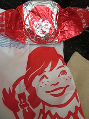 Wendy's wrappers