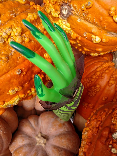 Hand from the Pumpkins