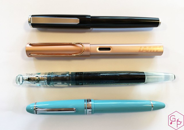 Review @KarasPenCo Decograph Fountain Pen 4