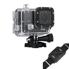 GitUp Git 2 2K WiFi Action 1440P Git2 Camera Novatek 96660 Remote Watch for GIT1 GIT2 Sport Camera (1066349) #Banggood