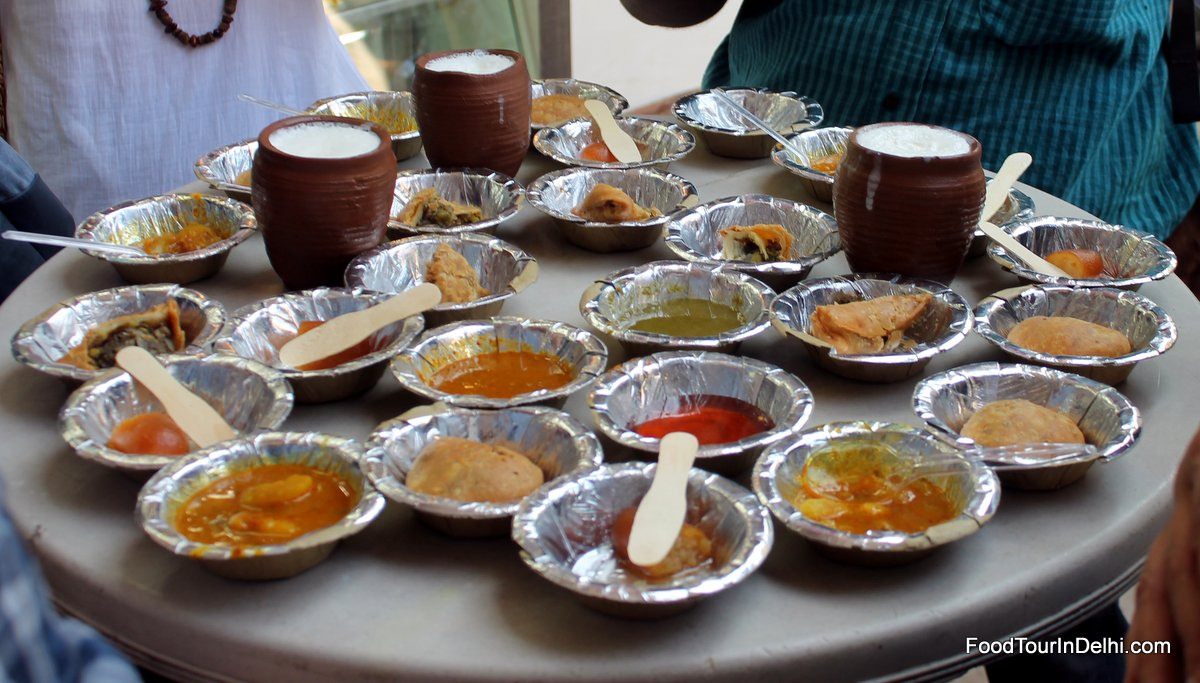 Kachori, Samsosa, Lassi and more for snacks