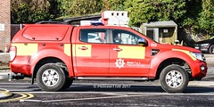 Kent Fire & Rescue Service Ford Ranger DX13 AGZ