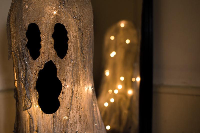 glowy ghosty DIY