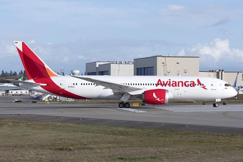 Avianca Boeing 787-8 N795AV