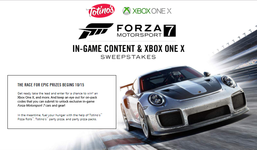 Contest and Gift list for FM7 - Page 3 - Forza Motorsport 7