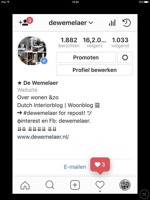 De Wemelaer op Instagram