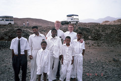 Tom and Elder Talbot at Santo Antao, 4-3-1994