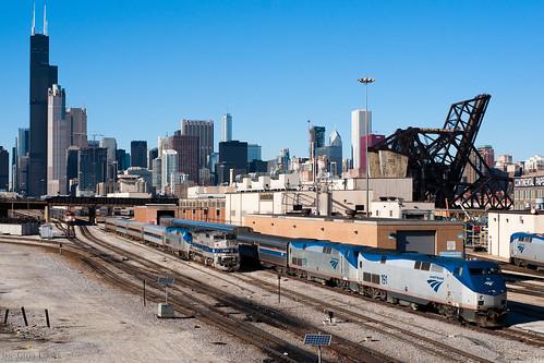 US - Chicago - Amtrak P32-8