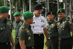 USARPAC Soldiers meet with Indonesian Chief of Army at Fort Shafter, HI