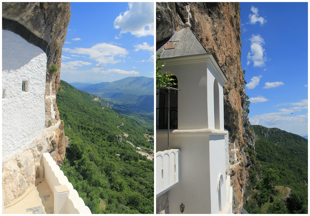 Views from Ostrog Monastery