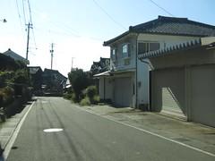 Approaching coastline at Takasu near Fukui-city