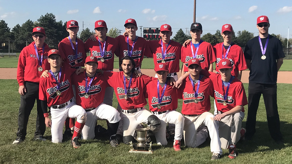 2017-18 Baseball Champions: Waterdown Warriors